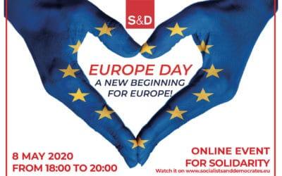 8.5, 18-20 Uhr: Online-Veranstaltung zum Europatag
